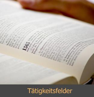 Tätigkeitsfelder: Rechtsanwalt für Wirtschaftsrecht in Heilbronn